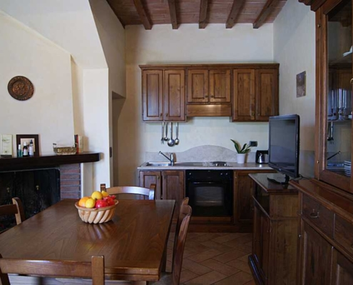 Handmade apartment in farmhouse