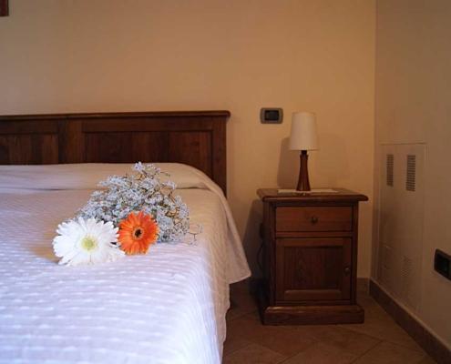 Rooms in farmhouse