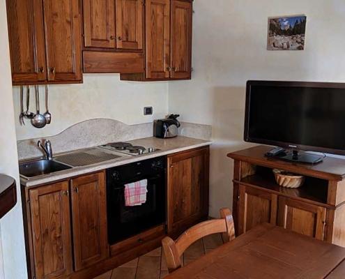kitchen room in farmhouse