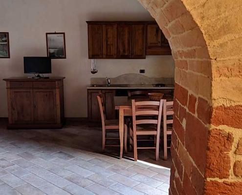 Apartment in farmhouse