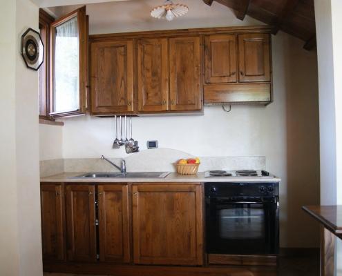 Farmhouse homemade kitchen