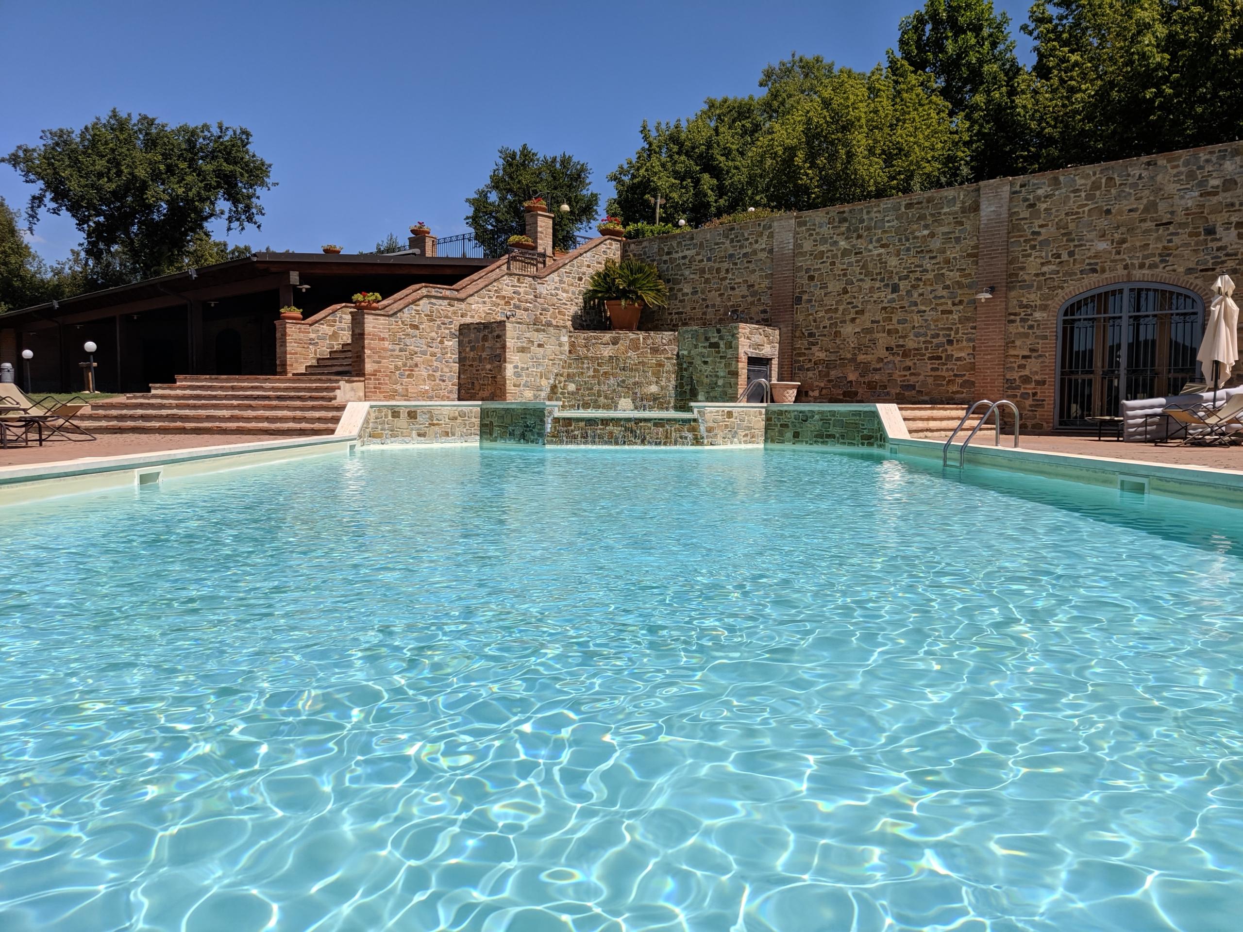 farmhouse with pool trasimeno lake